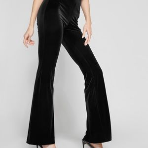 Marciano black fit and flare pants bootcut